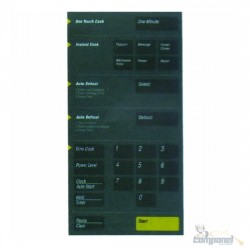 Membrana Microondas Samsung MW8620 Cinza